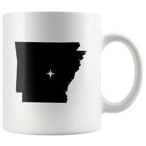 Arkansas Coffee Mug - 11oz. - AR - MissionMint