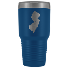 Load image into Gallery viewer, New Jersey Tumbler Travel Map Adoption Moving Gift - 30oz - MissionMint