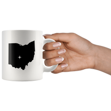 Load image into Gallery viewer, Ohio Coffee Mug - White 11oz - OH - MissionMint