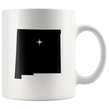 Load image into Gallery viewer, New Mexico Coffee Mug - White 11oz - NM - MissionMint