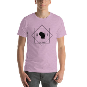 Wisconsin WI Short-Sleeve Unisex T-Shirt - MissionMint