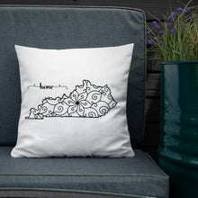 Load image into Gallery viewer, Kentucky KY State Map Premium Pillow