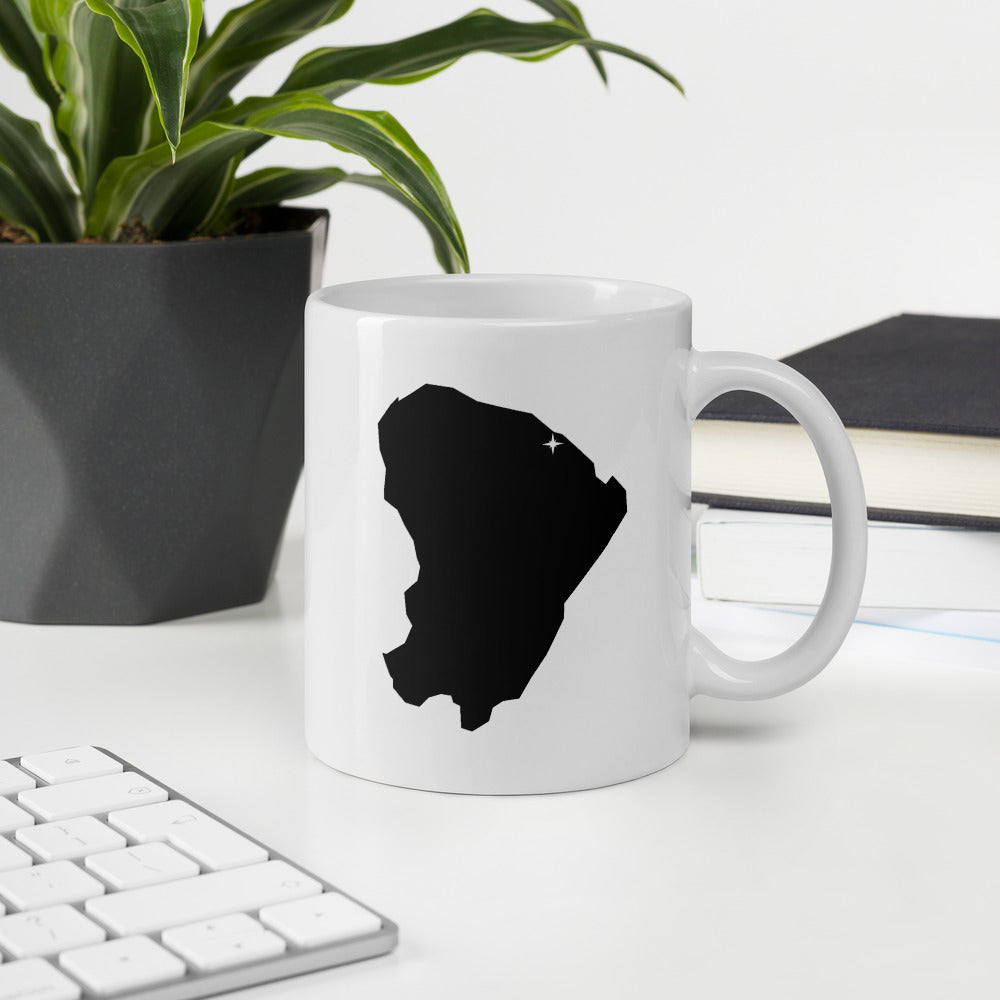 French Guiana Coffee Mug