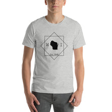 Load image into Gallery viewer, Wisconsin WI Short-Sleeve Unisex T-Shirt - MissionMint