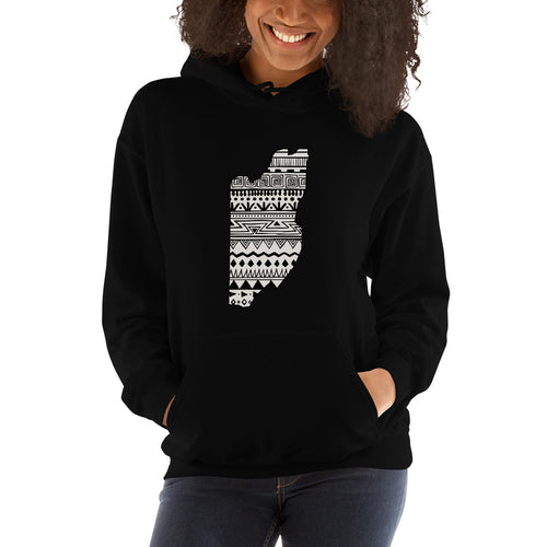 Belize Map Unisex Hoodie Home Country Pride Gift
