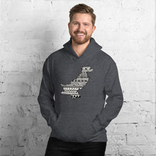Load image into Gallery viewer, Pakistan Map Unisex Hoodie Home Country Pride Gift