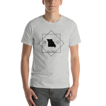 Load image into Gallery viewer, Missouri MO Short-Sleeve Unisex T-Shirt - MissionMint
