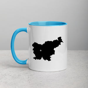 Slovenia Map Coffee Mug with Color Inside - 11 oz