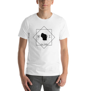 Wisconsin WI Short-Sleeve Unisex T-Shirt