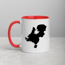 Load image into Gallery viewer, Netherlands Map Mug with Color Inside - 11 oz