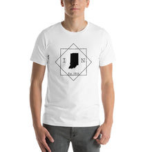Load image into Gallery viewer, Indiana IN Short-Sleeve Unisex T-Shirt - MissionMint