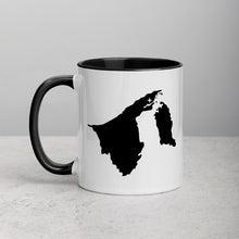 Load image into Gallery viewer, Brunei Map Coffee Mug with Color Inside - 11 oz