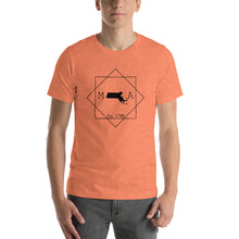 Load image into Gallery viewer, Massachusetts MA Short-Sleeve Unisex T-Shirt - MissionMint