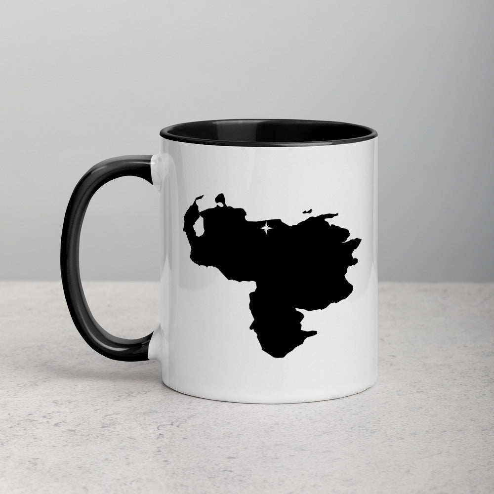 Venezuela Map Coffee Mug with Color Inside - 11 oz