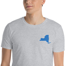 Load image into Gallery viewer, New York Unisex T-Shirt - Blue Embroidery