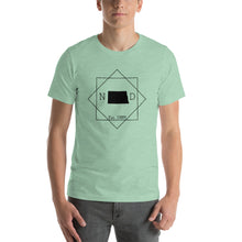 Load image into Gallery viewer, North Dakota ND Short-Sleeve Unisex T-Shirt - MissionMint