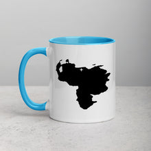 Load image into Gallery viewer, Venezuela Map Coffee Mug with Color Inside - 11 oz