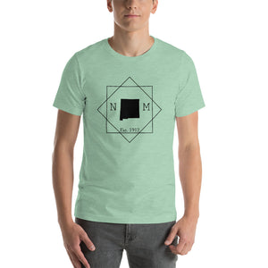 New Mexico NM Short-Sleeve Unisex T-Shirt - MissionMint