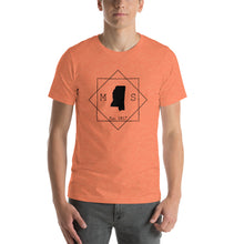 Load image into Gallery viewer, Mississippi MS Short-Sleeve Unisex T-Shirt - MissionMint