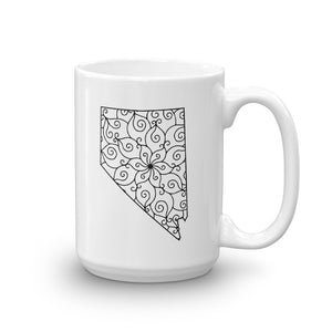 Nevada NV Mandala Mug