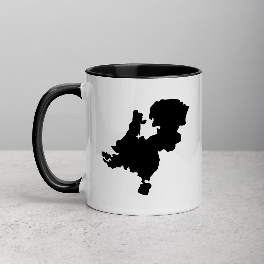 Netherlands Map Mug with Color Inside - 11 oz