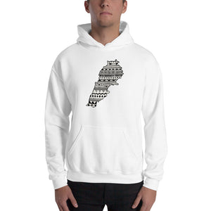 Lebanon Map Unisex Hoodie Home Country Pride Gift