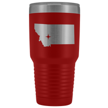 Load image into Gallery viewer, Montana Tumbler Travel Map Adoption Moving Gift - 30oz - MissionMint