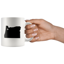 Load image into Gallery viewer, Oregon Coffee Mug - White 11oz - OR - MissionMint