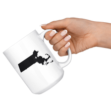 Load image into Gallery viewer, Massachusetts Coffee Mug - MA - MissionMint