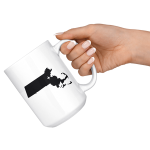 Massachusetts Coffee Mug - MA - MissionMint