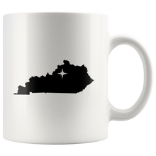 Load image into Gallery viewer, Kentucky Coffee Mug - White 11oz - KY - MissionMint