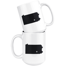 Load image into Gallery viewer, Pennsylvania Coffee Mug - PA - MissionMint