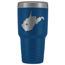 Load image into Gallery viewer, West Virginia Tumbler Travel Map Adoption Moving Gift - 30oz - MissionMint