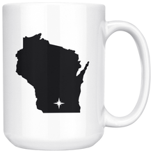 Load image into Gallery viewer, Wisconsin Coffee Mug - WI - MissionMint