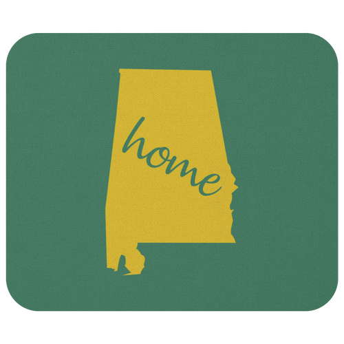 Alabama Computer Mouse Pad Desk Accessory - MissionMint