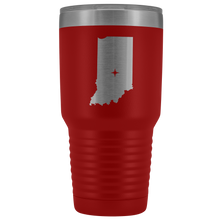 Load image into Gallery viewer, Indiana Tumbler Travel Map Adoption Moving Gift - 30oz - MissionMint