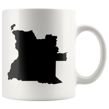 Load image into Gallery viewer, Angola White Coffee Mug - MissionMint