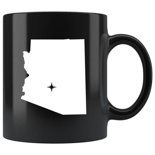 Arizona Coffee Mug - Black 11oz. - AZ - MissionMint