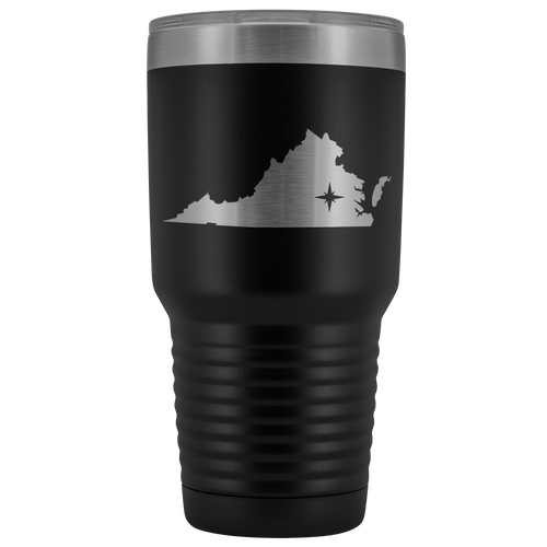 Virginia Tumbler Travel Map Adoption Moving Gift - 30oz - MissionMint