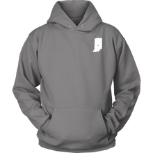 Load image into Gallery viewer, Indiana IN Unisex Hoodie - MissionMint