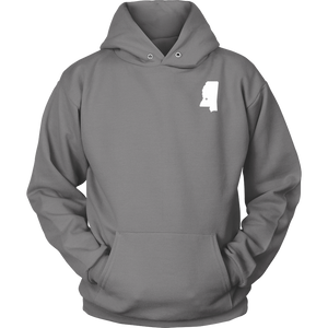 Mississippi MS Unisex Hoodie - MissionMint