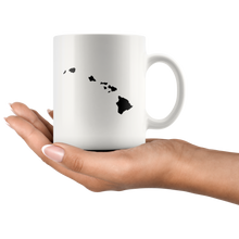Load image into Gallery viewer, Hawaii HI Coffee Mug - White 11 oz