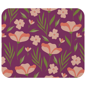 Mouse Pad Floral Pattern - MissionMint