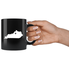 Load image into Gallery viewer, Kentucky Coffee Mug - Black 11oz. - KY - MissionMint