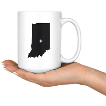 Load image into Gallery viewer, Indiana Coffee Mug - IN - MissionMint