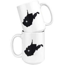 Load image into Gallery viewer, West Virginia Coffee Mug - WV - MissionMint