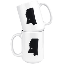Load image into Gallery viewer, Mississippi Coffee Mug - MS - MissionMint