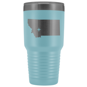 Montana Tumbler Travel Map Adoption Moving Gift - 30oz - MissionMint