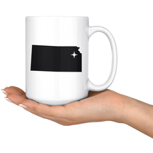 Load image into Gallery viewer, Kansas Coffee Mug - KS - MissionMint