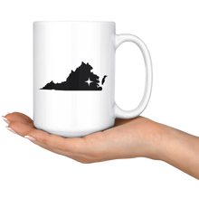 Load image into Gallery viewer, Virginia Coffee Mug - VA - MissionMint